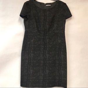 TAHARI black midi dress size 16